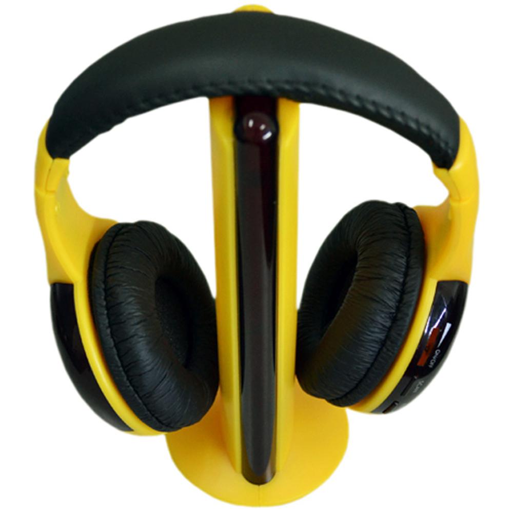 Akai AKCW07 Amarillo Auriculares inalámbricos