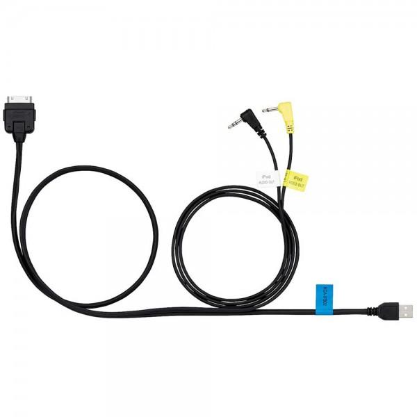 Kenwood KCA-IP202 cable directo para iPod//iPhone para la reproducción de música y video